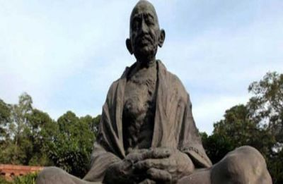 Mahatma Gandhi's statue found vandalised in state-run Odisha school