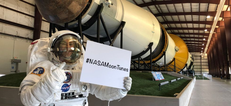Only songs published on official music streaming services at the time of the acceptance period will be added to the playlist, Nasa said. (Image credit: Nasa)