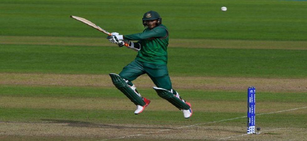Shakib Al Hasan crossed 6000 runs in ODIs, having recently taken 250 wickets for Bangladesh in ODIs. (Image credit: Twitter)