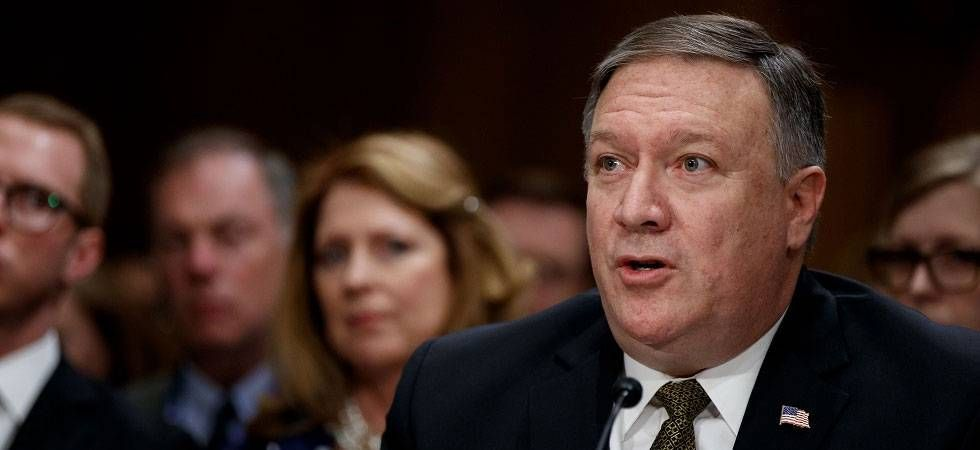 Pompeo stressed that the U.S. gets relatively little of its energy supplies through the strait, which lies between the Persian Gulf and the Gulf of Oman. (File Photo)