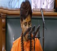 Watch: Pragya Singh Thakur's oath taking in Parliament marred by controversy