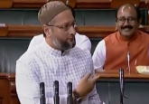 VIDEO | Asaduddin Owaisi's response to 'Jai Shri Ram', 'Vande Mataram' chants in Lok Sabha