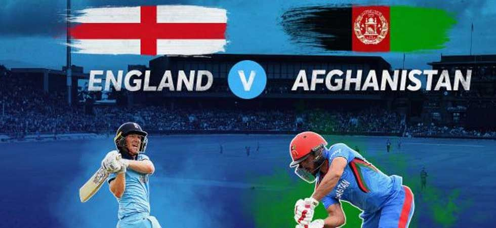 The England vs Afghanistan Match (Photo: Twitter/@cricketworldcup)