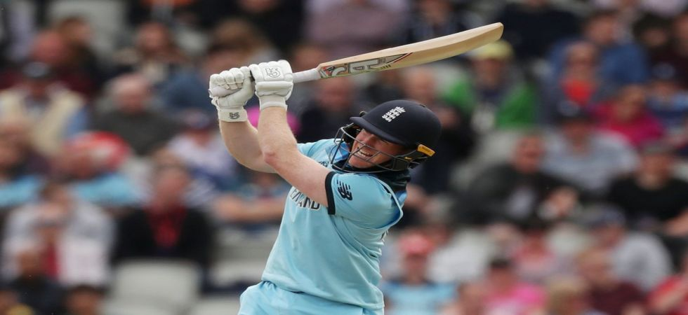 Eoin Morgan blasted 17 sixes against Afghanistan, which is most by any player in ODI cricket (Image Credit: Twitter)