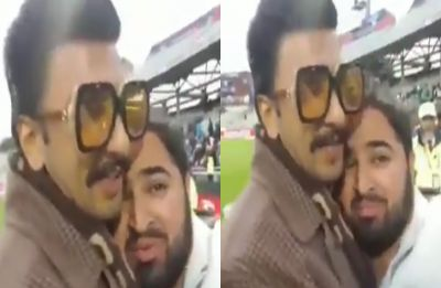 Watch VIDEO: Ranveer Singh consoles disheartened Pakistani fan after Team India win at Old Trafford