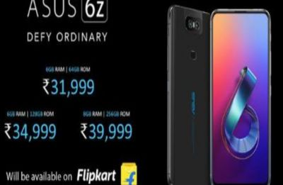 Asus 6Z with Snapdragon 855 SoC, Rotating Camera launched in India: Know more