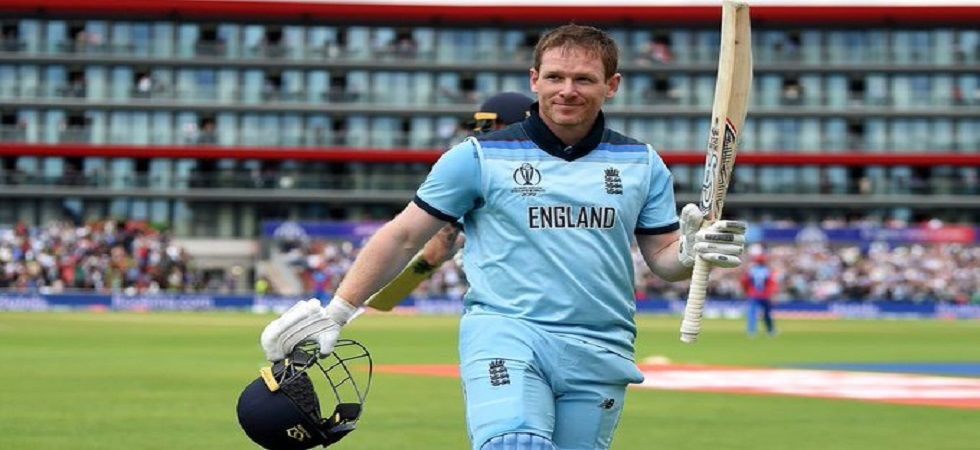 Eoin Morgan blasted a world record 17 sixes in the game against Afghanistan and he will be aiming to give Sri Lanka more pain. (Image credit: Twitter)