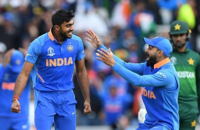 Vijay Shankar suffers injury scare, skips training session