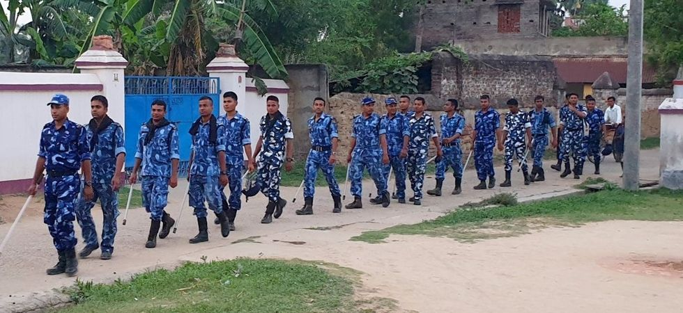 Rapid Action Force (RAF) personnel has been deployed in the area after clashes. (Image Credit: IANS)