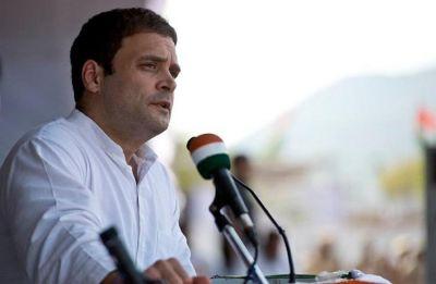 Rahul Gandhi had no disrespect, was translating difficult Hindi words on his phone: Congress