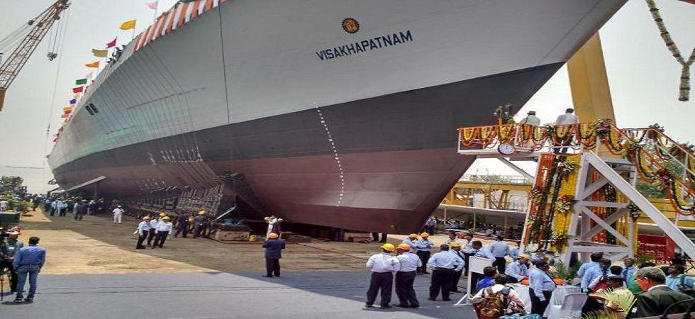 One dead in fire at under-construction Navy warship at Mumbai's Mazgaon dockyard
