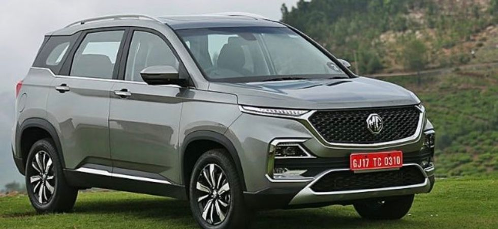 MG Hector Hector SUV (Photo Credit: Twitter/@ackodrive)
