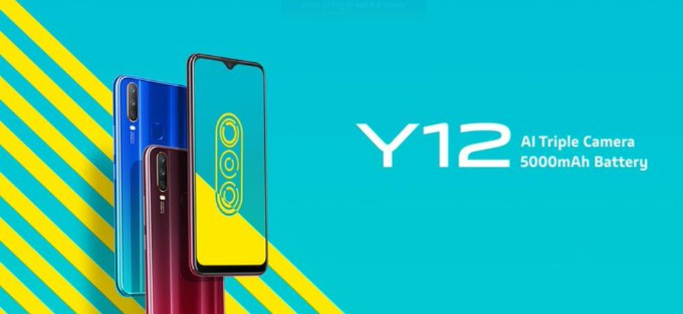 Vivo Y12 (Photo Credit: Vivo India)