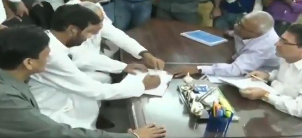 Ram Vilas Paswan was promised a Rajya Sabha berth under a pre-election agreement. (Image Credit: ANI)