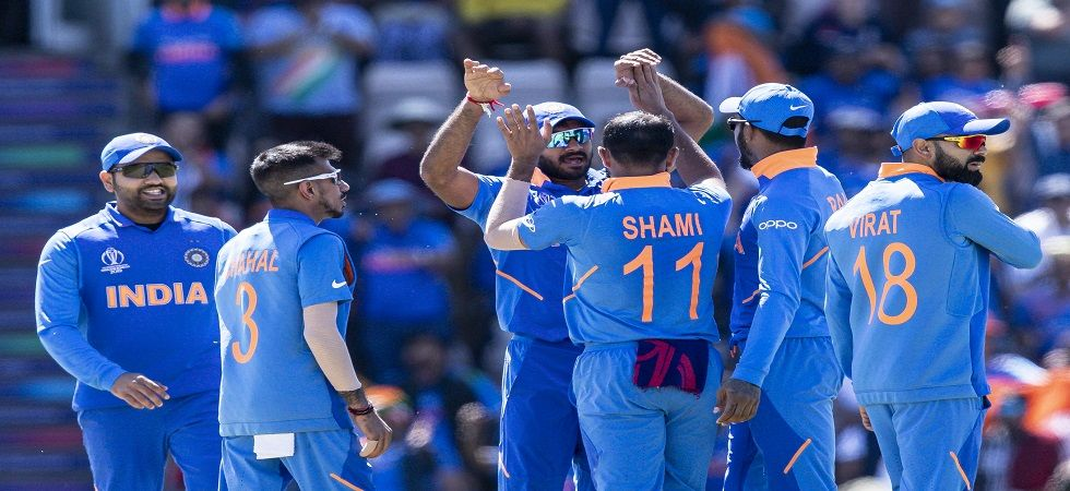 Mohammed Shami took a hat-trick as India won by 11 runs against Afghanistan in the ICC Cricket World Cup 2019 clash in Southampton. (Image credit: Getty Images)