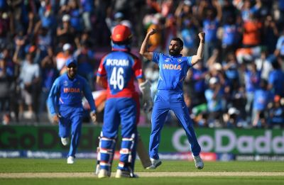 Mohammed Shami's hat-trick gives India nail-biting 11-run win against brave Afghanistan