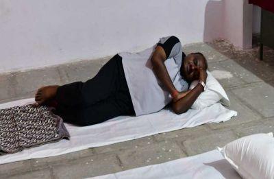 HD Kumaraswamy sleeps on floor during village visit, denies reports of 5-star treatment