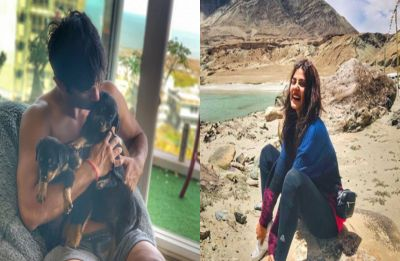 Sushant Singh Rajput and Rhea Chakraborty holidaying together in Ladakh? Their Instagram pictures say so