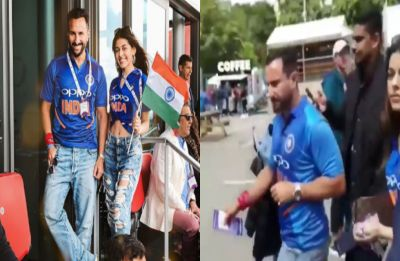 Saif Ali Khan hurled with insults at India vs Pakistan match, here's what happened next – watch VIDEO