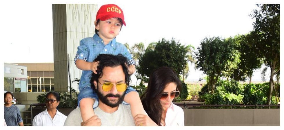 WATCH: Taimur hugging Saif not letting him go is your most adorable weekend treat
