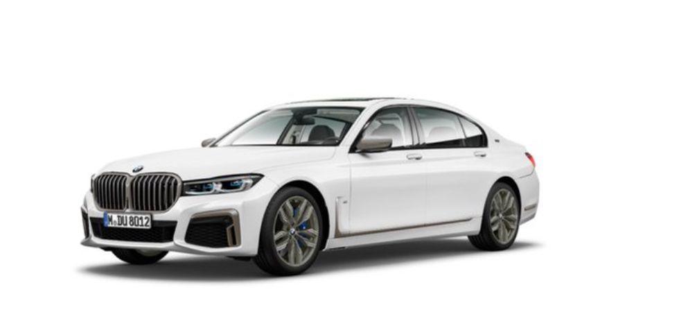 BMW 7 Series Facelift (Photo Credit: Twitter/@Zero2Turbo)