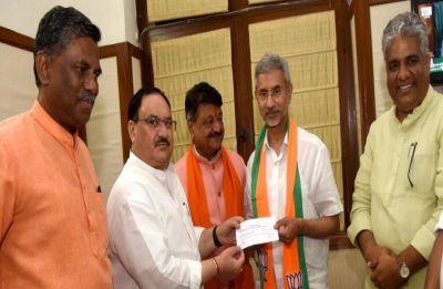 External Affairs Minister S Jaishankar formally joins BJP