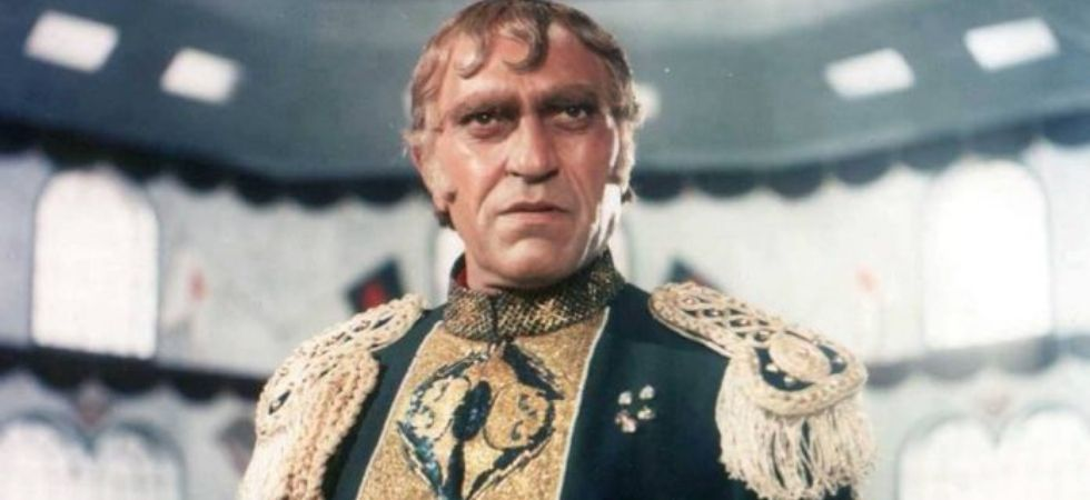 Amrish Puri in Mogambo.