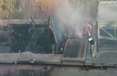 3 killed as Howrah-Jagdalpur Samaleswari Express hits maintenance tower car in Odisha
