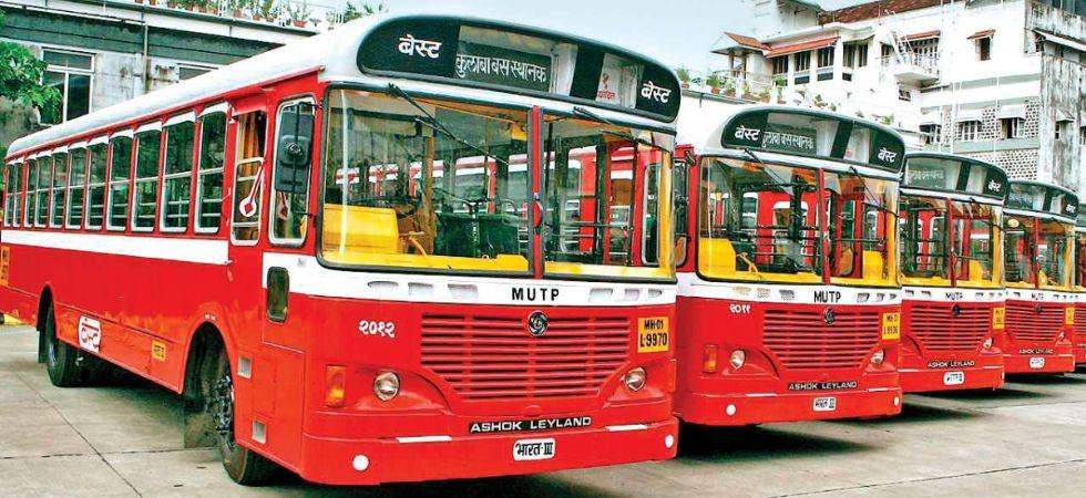 Mumbai BEST buses (Photo Credit: Twitter)