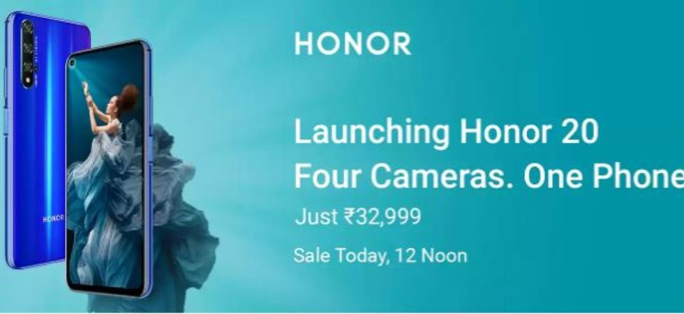 honor 20 smartphone (Photo Credit: Flipkart)