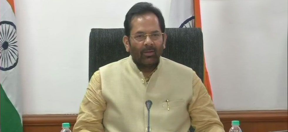 """""""Jai Shri Ram"""" can be chanted by embracing people and not by throttling them: Mukhtar Abbas Naqvi"""