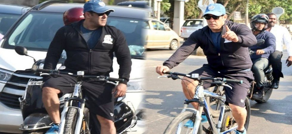 According to the complaint, the alleged incident took place in the wee hours of April 24 when Salman Khan was riding a bicycle escorted by two body-guards.