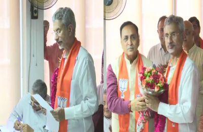 S Jaishankar files nomination papers for Rajya Sabha poll from Gujarat