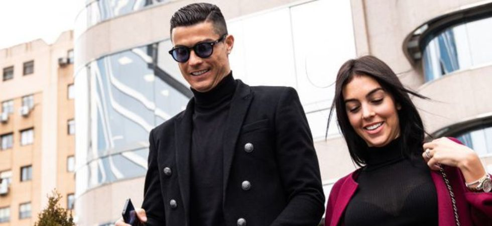 Cristiano Ronaldo & gf Georgina Rodriguez (Photo Credit :Twitter)
