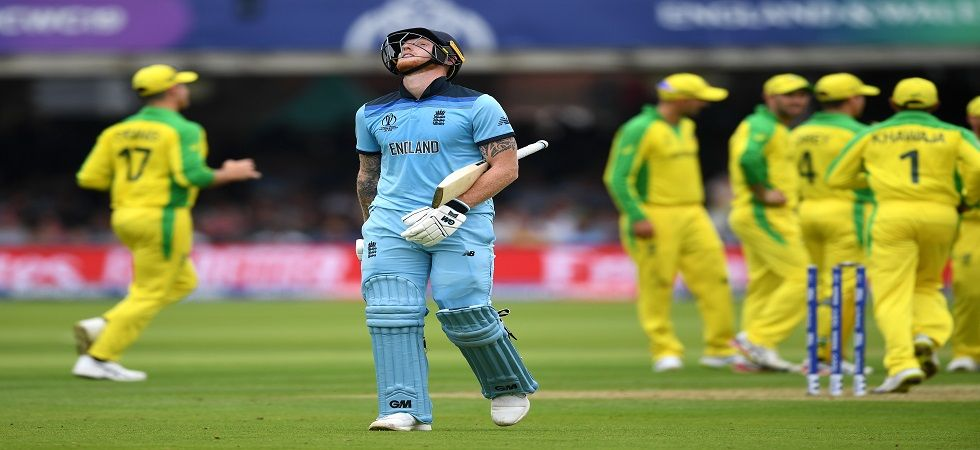 England are in a vulnerable position in the race for the semi-finals after losing to Australia by 64 runs in Lord's. (Image credit: Getty Images)