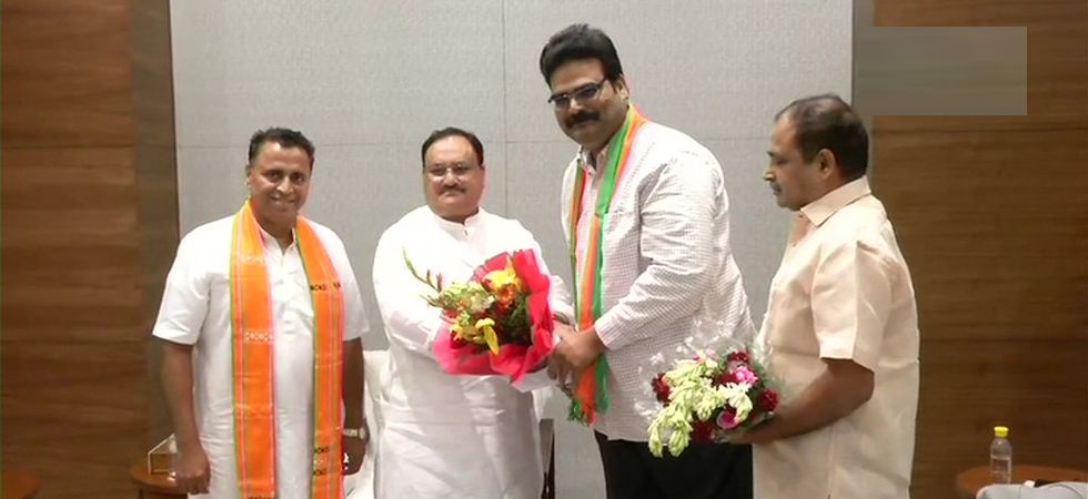 TDP Spokesperson Lanka Dinakar joins BJP in presence of JP Nadda at party headquarters