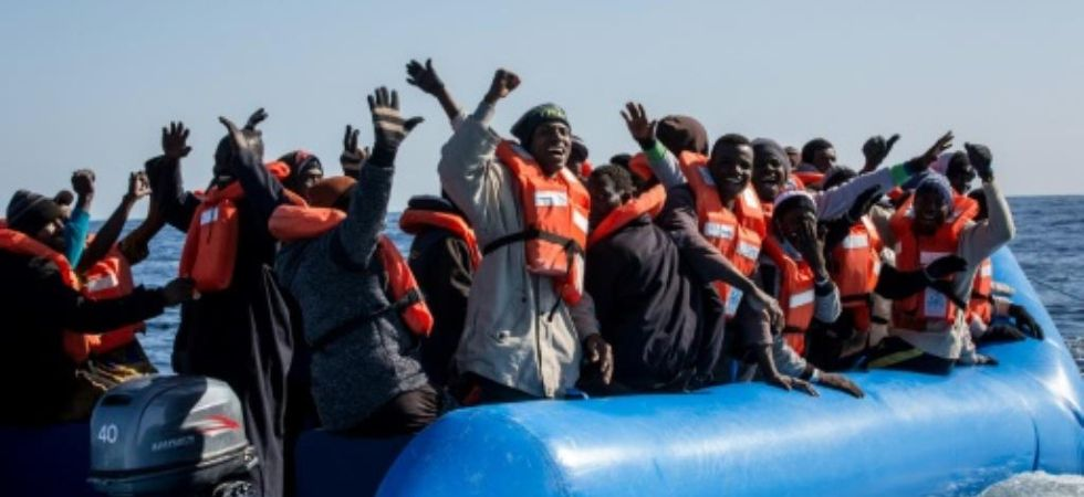 20,000 migrants rescued from Sahara (Photo Credit: Twitter)