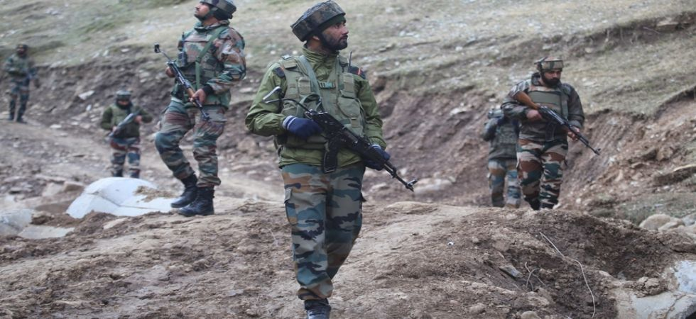 A joint team of forces laid a siege in the area following specific information about the presence of terrorists