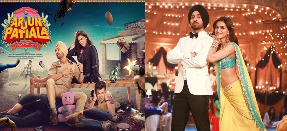 Arjun Patiala song Main Deewana Tera: Kriti, Diljit burn the dancefloor on this track.