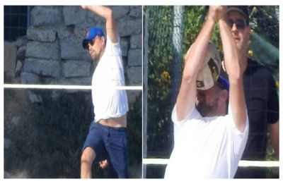 Leonardo DiCaprio gets whacked on the face with volleyball, Tweeple turn it into hilarious memes, CHECK out