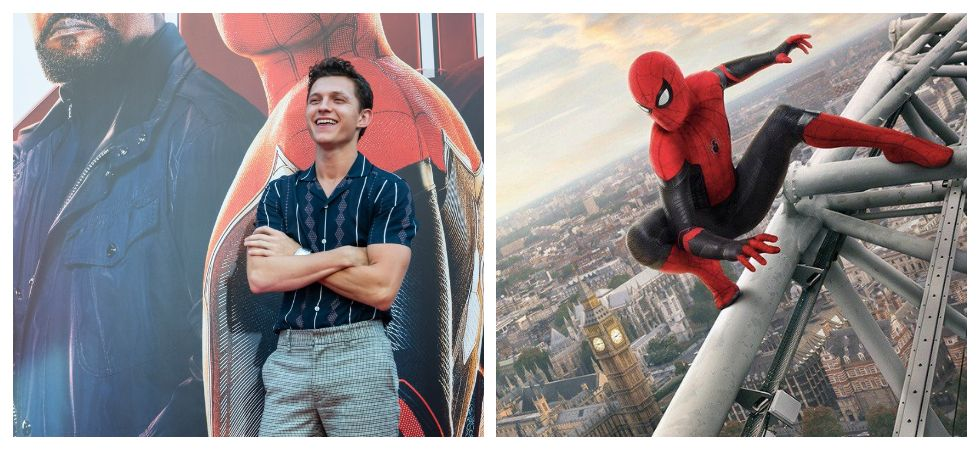 Tom Holland saves fan from being crushed by autograph pursuers (Photo: Twitter)