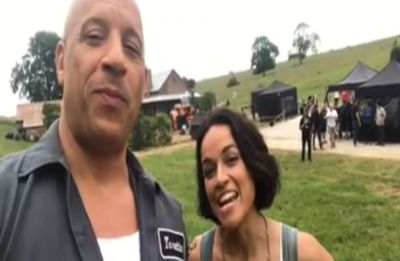 Fast and Furious 9: Vin Diesel and Michelle Rodriguez kickstart shooting for the film, check out VIDEO