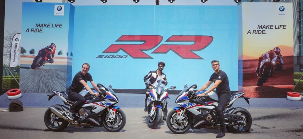 BMW S 1000 RR recalled in Europe (Photo Credit: Twitter)
