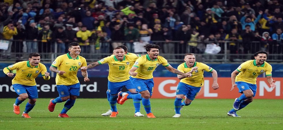 Brazil entered the semi-final of the Copa America 2019 with a tense penalty shoot-out win against Paraguay. (Image credit: Dugout Twitter)