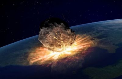 Car-size Asteroid exploding in atmosphere captured by radar, weather satellite