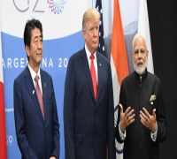 PM Modi holds trilateral meeting with Trump, Abe on sidelines of G20 Summit
