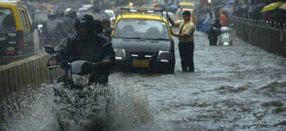 Mumbai Rain (Photo Credit: Skymet Weather)