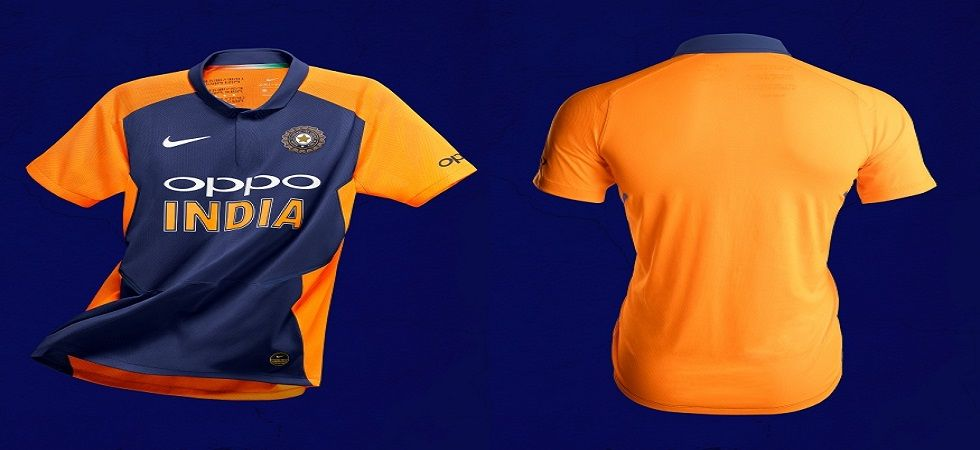 India will wear this jersey against England in 2019 World Cup 2019 (Image Credit: Twitter)