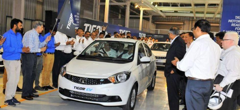 Tata Tigor EV (Photo Credit: Twitter)