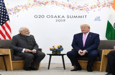 PM Modi meets US President Trump, discuss Iran, trade, defence, 5G